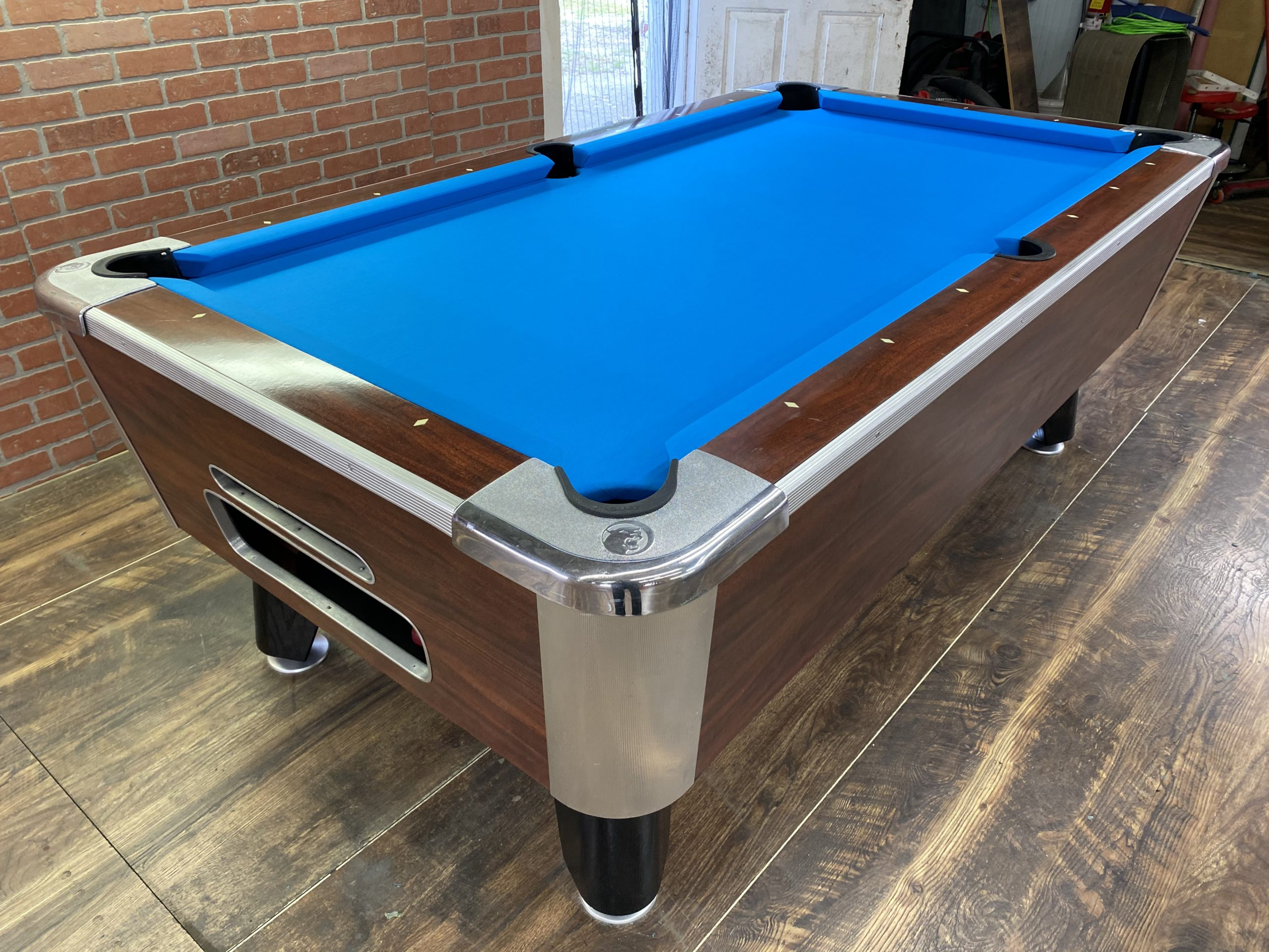 6 1/2 Valley Used Coin Operated Pool Table   Used Coin ...